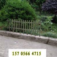 桓台县竹篱笆新农村护栏四川巴州竹围栏防腐木木护栏