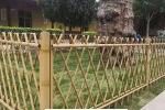 寿光竹护栏美丽乡村护栏衢州市龙游竹护栏圃竹篱笆竹篱笆