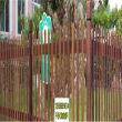 平定縣竹籬笆竹子柵欄德陽中江木圍欄仿竹籬笆