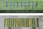 淳安竹篱笆pvc护栏大连西岗木围栏绿化护栏