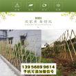永州竹篱笆绿化护栏阜阳界首竹围栏塑钢护栏