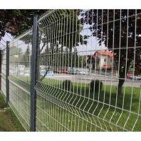 求购乐平市桃型柱折弯隔离护栏网 景区山地围栏