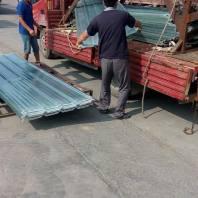 欽州玻璃鋼frp防腐采光帶淡藍