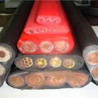 耐磨卷筒专用YGZB3*50+1*25扁平电缆