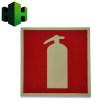 IMO海事组织定制标识,夜光pvc消防牌,夜光消防指示