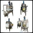 無菌配液膠水加熱濃縮罐蒸汽加熱反應釜老化缸