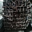 山东玻璃卡槽用25*36镀锌T型管围网底座用可定制加工护栏横梁用管玻璃卡槽用