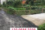 仪陇竹篱笆竹栏杆湘西州永顺竹围栏户外围栏