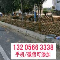 宿州市竹篱笆仿竹节护栏 扬州市广陵竹护栏仿竹篱笆